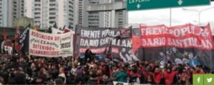 Familiares y compañeros de Darío y Maxi volvieron a pedir juicio para los responsables políticos de sus asesinatos
