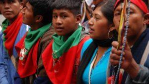 Colombia, sciopero campesino