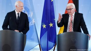 Germany, UN push for new Syria peace talks