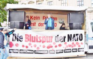 Kein Frieden mit der NATO