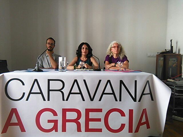 """La """"Caravana a Grecia"""" exige al Gobierno de España y a la UE que cumplan los derechos humanos de las personas refugiadas"""