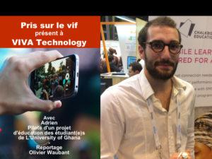 VIVA Technology – Les technologies au service de l'éducation