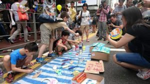 Hong Kong's day of protest demonstrates civility