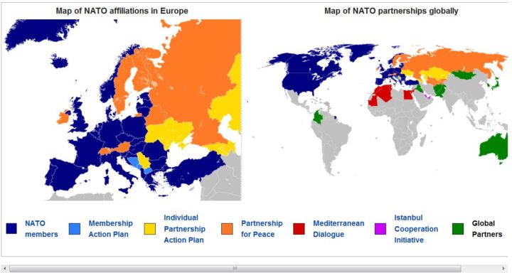 Nato Has A Very Peculiar Way Of Showing It Doesn T Want