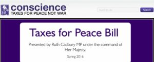 UK: Taxes for Peace Bill scheduled in Parliament!