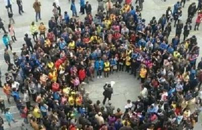 China's workers organize simultaneous protests in multiple cities - Pressenza