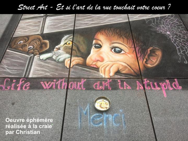 Street Art N°1 : Laissez-vous toucher par l'art
