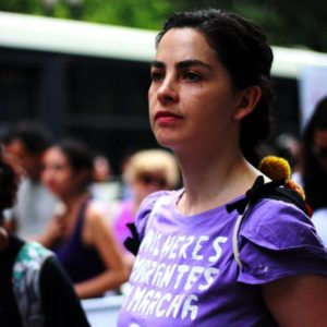 Andrea Carabantes (MH) en «Regional y Popular» desde São Paulo: «Las mujeres somos las que nos organizamos y logramos parar los retrocesos»