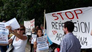 Argentinier in Deutschland rufen zu Protesten gegen Macri auf