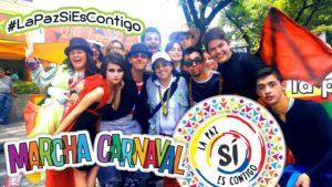 El nororiente colombiano se movilizó en Cúcuta porque la Paz está de fiesta