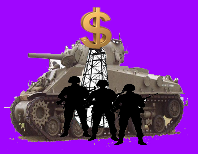 Petrodollars v. Petroeuros. Not in Chilcot? It should be. We want a Conscientious Objector No War Tax Law