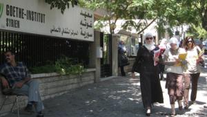 Goethe-Institut Damaskus eröffnet in Berlin