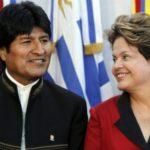 Morales llamará a su embajador en Brasil si cae Rousseff