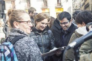 Javier Alegría: «Ada Colau devolvió a la población la posibilidad de participar en las instancias democráticas»