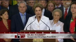 Complete reversal of Democracy: Glenn Greenwald on Brazilian President Dilma Rousseff's impeachment