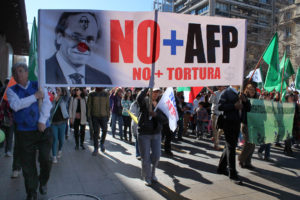 Chile: Exitosa marcha ciudadana contra las AFP