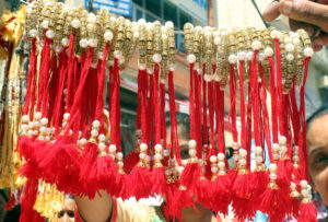 The Raksha Bandhan festival in Jammu, India