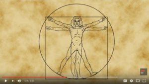 Da Vinci's Vitruvian Man of math – James Earle