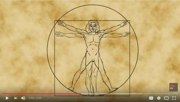 Ο Άνθρωπος του Βιτρούβιου του Λεονάρντο Ντα Βίντσι – James Earle