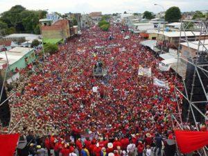 Gran movilizacion en Apure apoyando al gobierno de Nicolás Maduro
