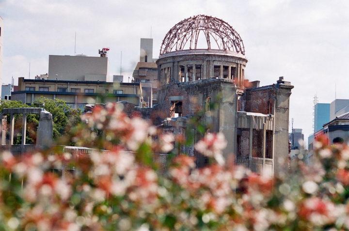Cúpula de la bomba atómica, Parque de la Paz, Hiroshima. Foto bryan…