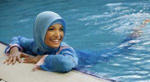 Next time I go swimming I might wear a good burkini