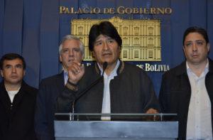 Evo Morales lamentó el asesinato del viceministro Illanes y habló de conspiración