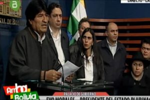 Morales denounces attempts to destabilize Bolivia