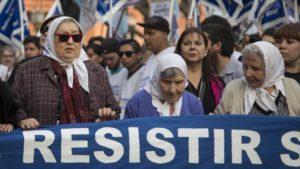 Finaliza Marcha de la Resistencia contra políticas de Macri