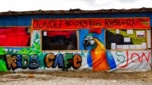 Kids Cafe at Calais Jungle under closure orders so what of the 'kids'?
