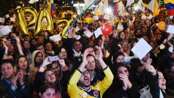 El mundo apoya a Colombia para construir un futuro en paz
