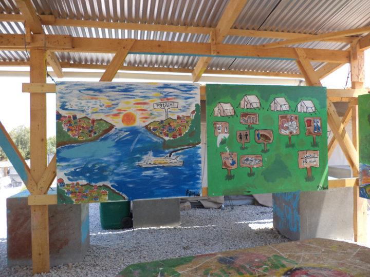 Ultimo giorno al campo per minori non accompagnati a Mantamados, Isola di Lesbo