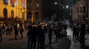 Ativistas Black Block fazem Ato FORA TEMER no Rio