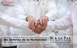 Red de Intelectuales, Artistas y Movimientos Sociales apoyan el Acuerdo Final de Paz en Colombia