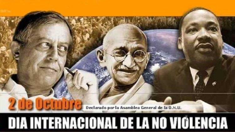 2 octobre 2016: «Jour International de la Non violence»