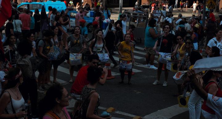 Protestos do Dia de Independência, no Rio de Janeiro