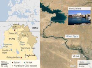 Un enorme pericolo alla Diga di Mosul. Siano ritirate le truppe italiane