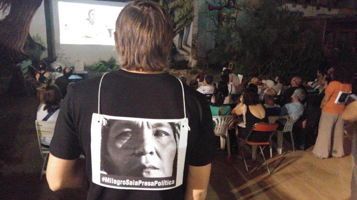 Acto por la liberación de Milagro Sala en Barcelona