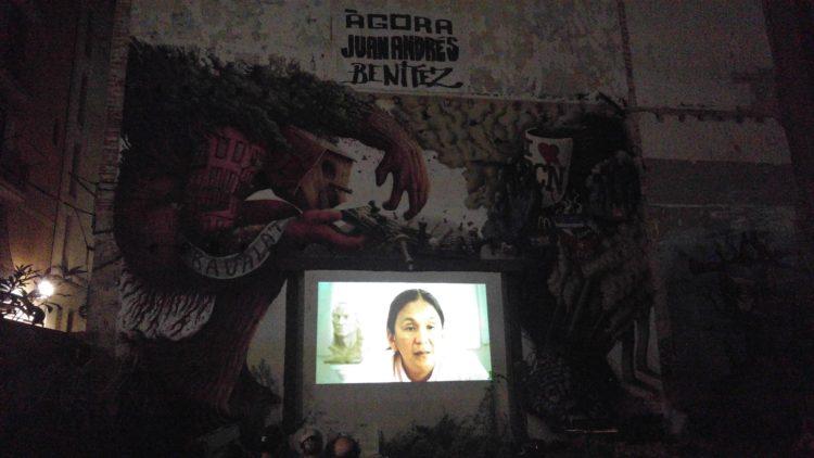 Acto Milagro Sala en Bcn 2016-09-08 05