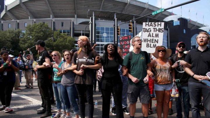 Sesto giorno di proteste a Charlotte