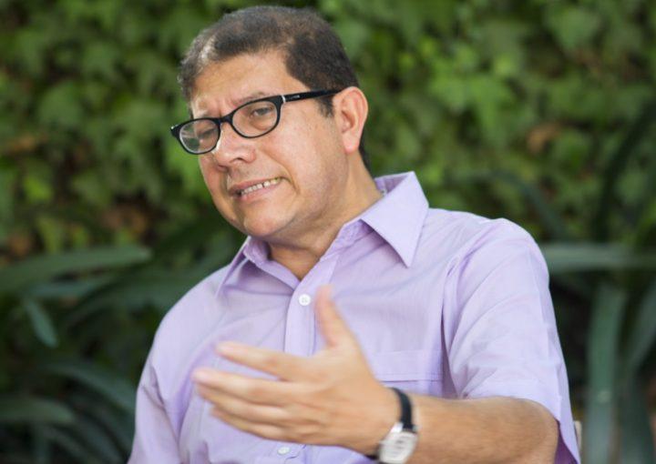 José Arley, director de Política Pública de la Alcaldia de Medellín. Foto: Pedro Muñoz