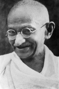 Gandhi: 'My life is my message'