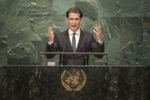 Austria announces UN resolution to prohibit nuclear weapons in 2017