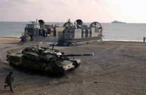 """""""Não"""" aos testes nucleares e aos exercícios militares na península coreana, """"sim"""" à paz e ao desarmamento"""