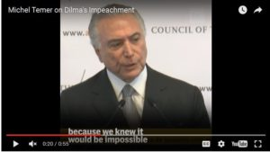 Safe with 'oligarchs and imperialists' in US, Brazil's new President admits coup plot
