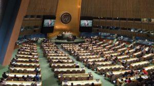 Gobiernos presentan un proyecto de resolución para iniciar las negociaciones sobre el tratado de prohibición
