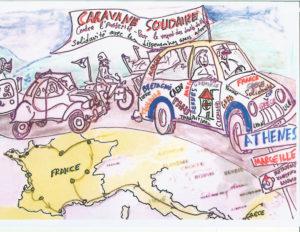 Caravane solidaire avec la Grèce