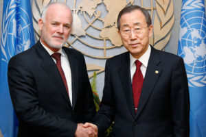 New UNGA President Peter Thomson to Work Closely with India
