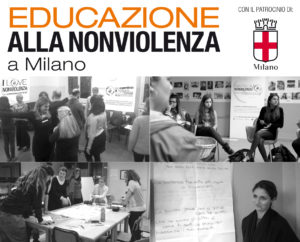Milano, parte il laboratorio di Educazione alla Nonviolenza