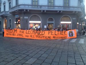 Manifestazioni per Leonard Peltier